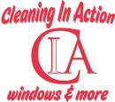 CLEANING IN ACTION VECTOR - RED